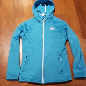 Youth 14 North Face full zip hoody/jacket